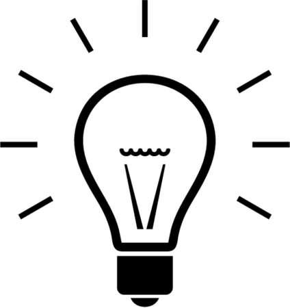 bulb: Bulb. Dies ist ein Vektor-Bild - k�nnen Sie einfach bearbeiten Farben und Formen