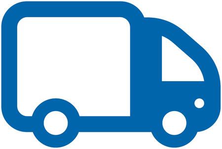 Kleine Vector Truck Vector Illustratie