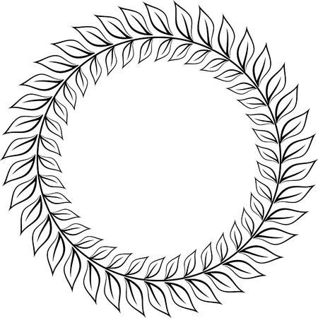 Lauwerkrans van Caesar Vector Illustratie
