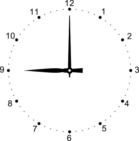 Vector Clock Dial