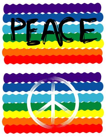 Peace Flag, Peace Sign
