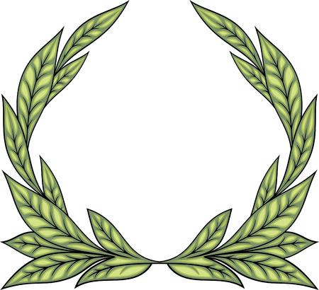 Laurel Wreath (Vector) 免版税图像 - 4960718