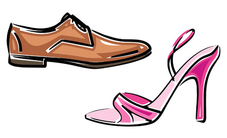 Zapatos (imagen vectorial)