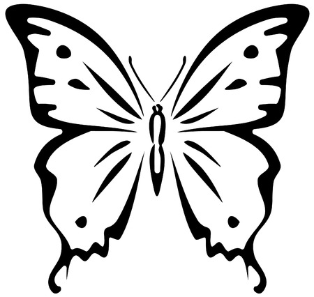 Butterfly (stencil)