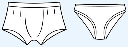 Underwear (Vector)