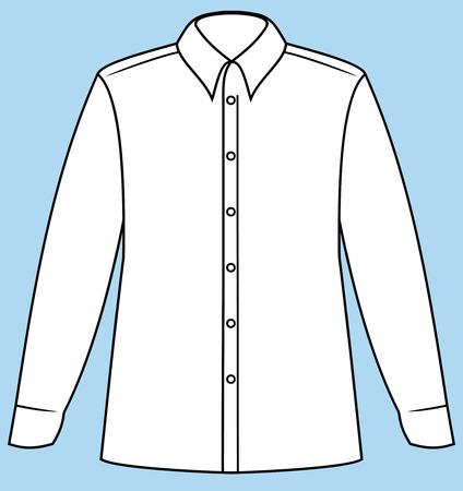 Business shirt (Vector) Stock Vector - 4971687