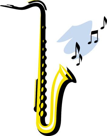 Saxophone Vectores