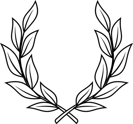 Laurel wreath - vector illustration