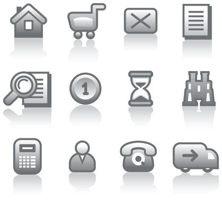 E-Commerce Icon Set (Vector)