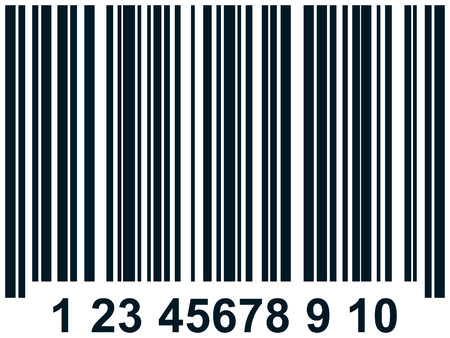 Barcode vector simple illustration