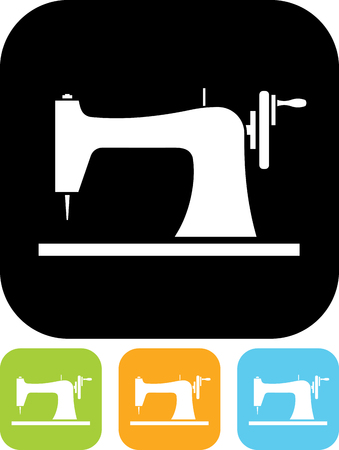 Sewing Machine Vector Icon Royalty Free Cliparts Vectors And Stock Fascinating Sewing Machine Vector Free