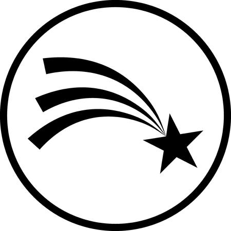 Ripresa vettore icona stella