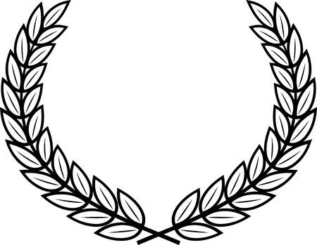 Vector Laurel Wreath Illustration