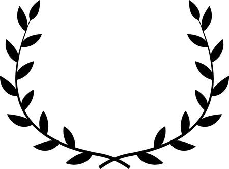 Vector Laurel Wreath 일러스트