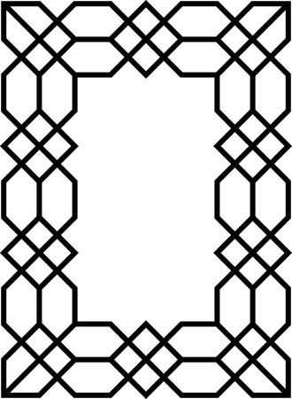 Vector de marco Foto de archivo - 52870253