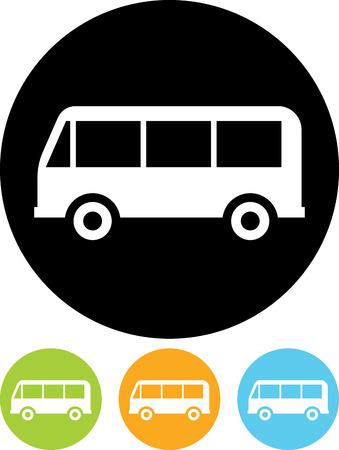 Bus vector icon