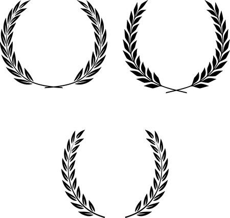 Lauwerkransen Vector