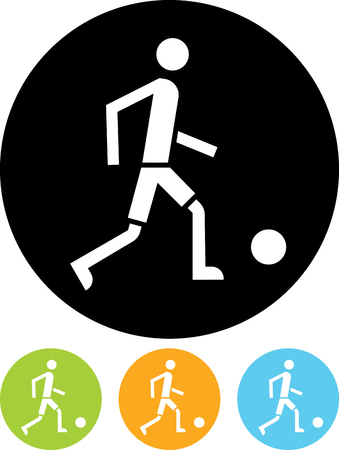 Football soccer player