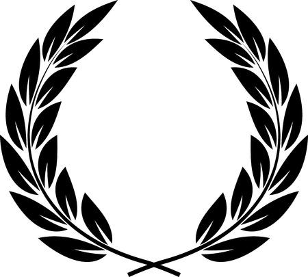 Vector Laurel Wreath  イラスト・ベクター素材