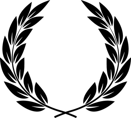 Vector Laurel Wreath 向量圖像
