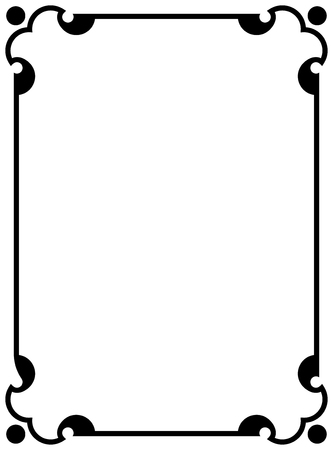 Vector border frames