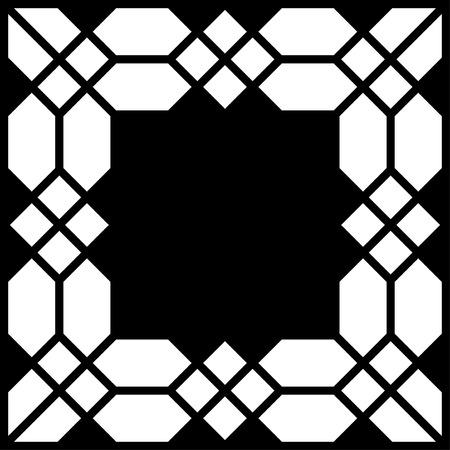 Frame Vector Square Tile Vettoriali