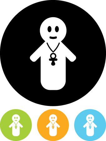 Baby - Vector icon
