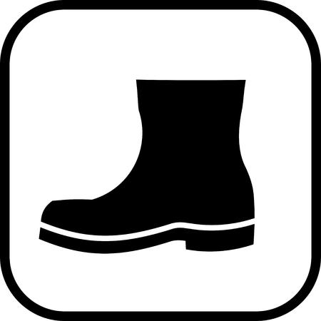 Boot vector icon