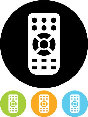 Télécommande - vecteur icône isolé Vecteurs