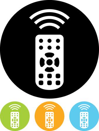Télécommande - vecteur icône isolé