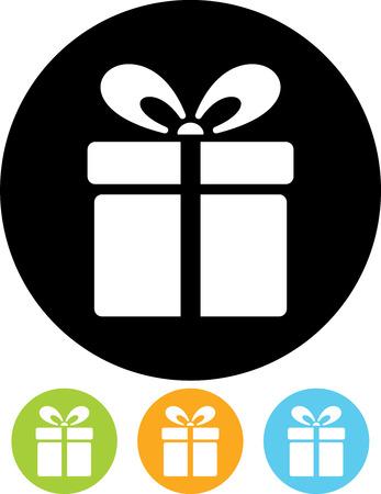Geschenkdoos Vector pictogram