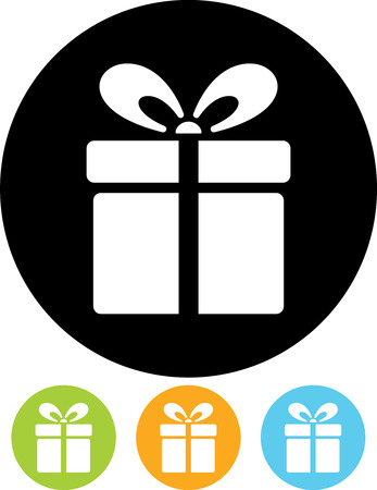 Gift box  Vector icon