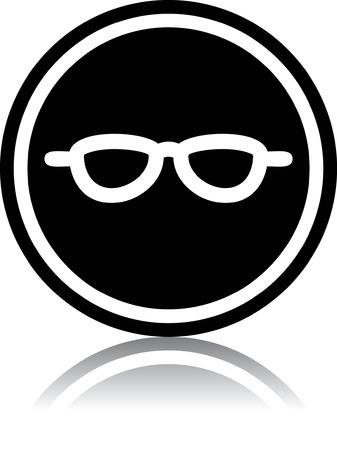 Eyeglasses - Vector illustrations