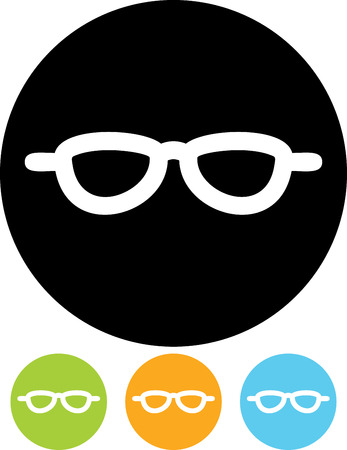 Eyeglasses eyewear - Vector illustrations