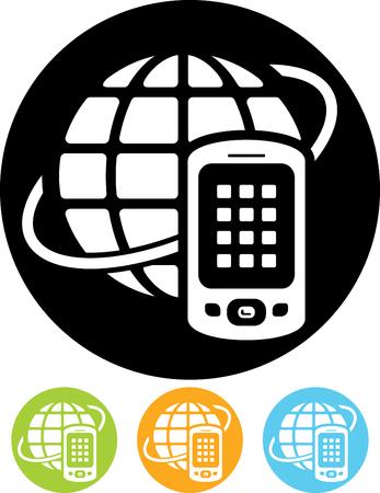 Satellite telecommunication worldwide mobile phone
