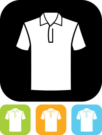 Polo Shirt Vektor Isoliert Lizenzfrei Nutzbare Vektorgrafiken Clip