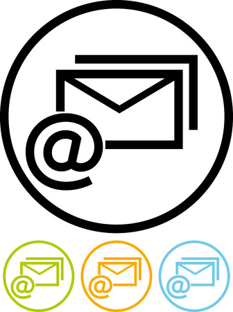 Email message - Vector icon