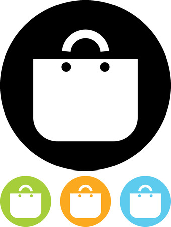Handbag - Vector icon isolated