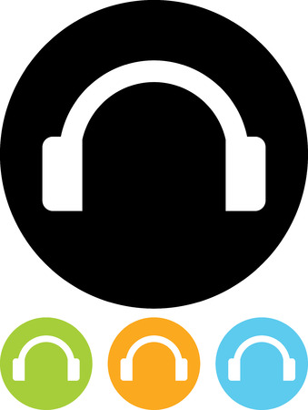 Headphones - Vector icon isolated Stock fotó - 52951207