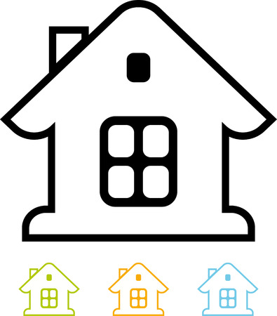 House - Vector icon isolated
