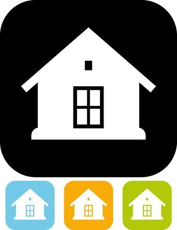 House - Vector illustration isolated Ilustração