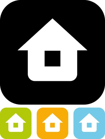 Home - Vector icon isolated Illustration