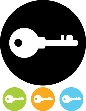 Icône vecteur clé Banque d'images - 52952026