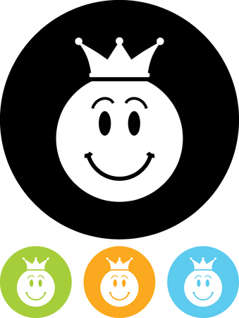 King - Vector icon isolated