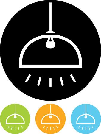 Hanglamp - Vector pictogram geïsoleerde