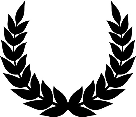 Laurel wreath vector 矢量图像