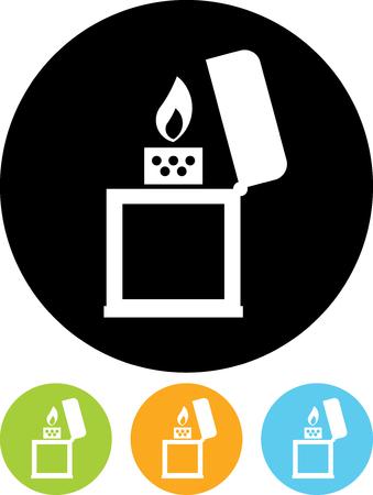 Cigar Lighter - Vector icon isolated Ilustração