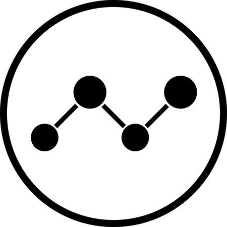 リンク接続ネットワーク ベクトル アイコンに参加しました  イラスト・ベクター素材