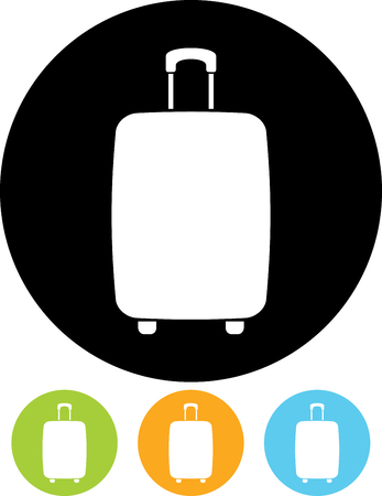Travel bag luggage baggage claim sign Иллюстрация