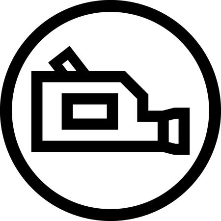 Video camera - Vector icon isolated Ilustração